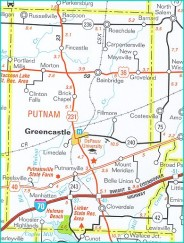 Greencastle Putnam County Development Center Map Room